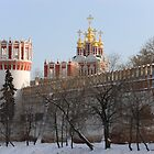 Novodevichy Convent, Moscow, Russia by Mikhail Kovalev