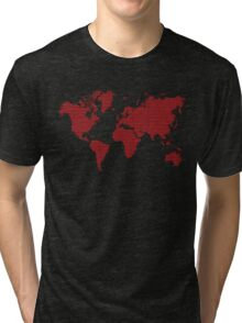 Love planet Tri-blend T-Shirt