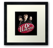 Dr Watson - 3 Representations Framed Print