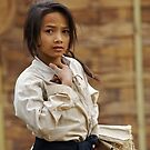 Laos Girl  by David Reid