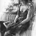 Girl reading by djones