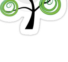Green summer Sticker