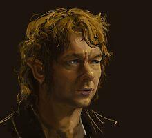 Bilbo Baggins by tokimonster