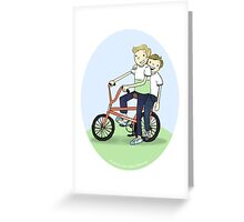 Lowrider Lads Greeting Card