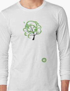 Green summer Long Sleeve T-Shirt