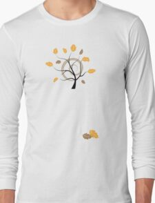 Orange autumn Long Sleeve T-Shirt