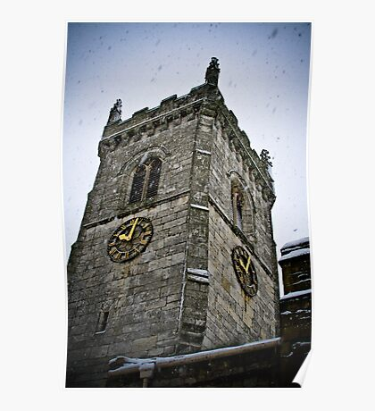 Church Tower Poster