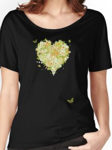 Floral heart for you Women's Relaxed Fit T-Shirt