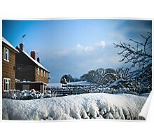 Sunny Snow Poster