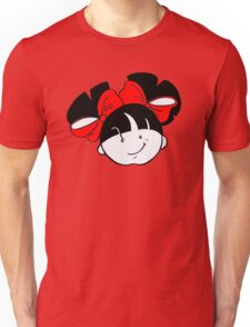 Tullulah with red ribbons Unisex T-Shirt