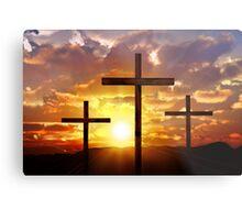 Jesus God Christianity Religion Crucifiction Metal Print