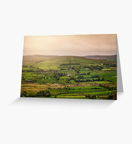 Fifty Shades Of Green Greeting Card