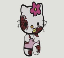 Zombie Hello kitty by cathleenmae