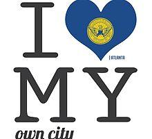 Atlanta | Georgia #ilovemyowncity by 84creations