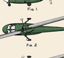 Helicopter Patent - Colour Sticker