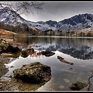 Buttermere and Haystacks by Shaun Whiteman