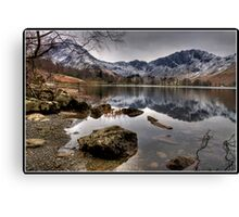 Buttermere and Haystacks Canvas Print