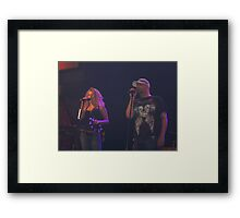 Jenny and The Dude Framed Print