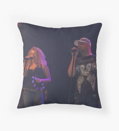 Jenny and The Dude Throw Pillow