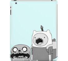 Adventure Time - Finn & Jake WTF iPad Case/Skin