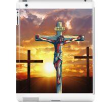 Jesus God Christianity Religion Crucifiction iPad Case/Skin