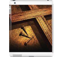 Jesus God Christianity Religion Crucifiction Nails Cross iPad Case/Skin