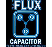 THE FLUX CAPACITOR Funny Geek Nerd Photographic Print