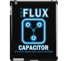 THE FLUX CAPACITOR Funny Geek Nerd iPad Case/Skin
