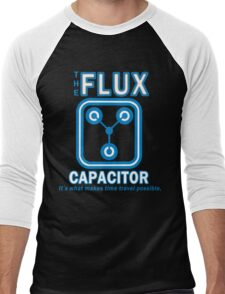 THE FLUX CAPACITOR Funny Geek Nerd Men's Baseball ¾ T-Shirt