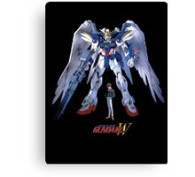 Gundam Wing - Zero Canvas Print