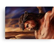 Jesus God Christianity Religion Crucifiction Canvas Print