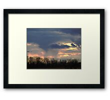 The Changing Sky Framed Print