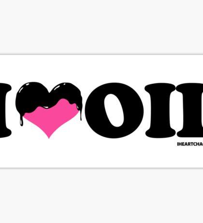 I Heart Oil Sticker