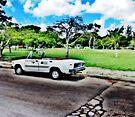 Cuban Taxi by Nathalie Chaput