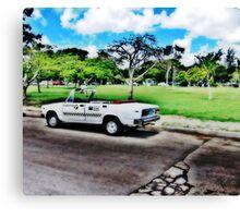 Cuban Taxi Canvas Print
