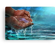 The Water of Life Canvas Print
