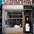 STORE FRONT: The Disappearing Face Of New York: D. D'AURIA and Sons Pork Store by James and Karla Murray