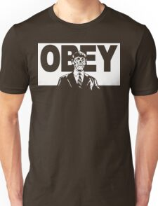 They Live Obey Rowdy Roddy Piper Cult Funny Geek Nerd Unisex T-Shirt