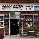 STORE FRONT: The Disappearing Face Of New York: CAFFE CAPRI by James and Karla Murray