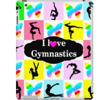 BUTTERFLY I LOVE GYMNASTICS DESIGN iPad Case/Skin