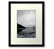 Snowdon Reflection Framed Print
