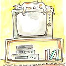 TV Cat by Tama Blough