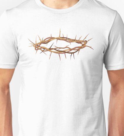Jesus Crown of Thorns Unisex T-Shirt