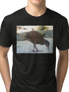 We Like Bling - Weka - NZ Tri-blend T-Shirt