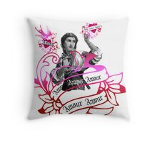 Amour Exotic Valentine Throw Pillow
