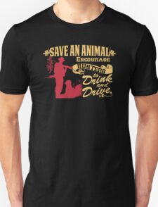 Save an Animal Unisex T-Shirt