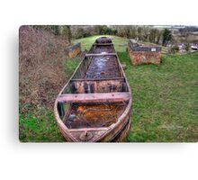 Rusty the Barge~ Canvas Print
