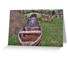 Rusty the Barge~ Greeting Card