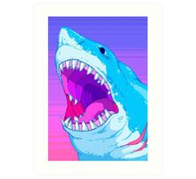 Shark Time Art Print