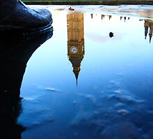 mandela's shoe and big ben by photogenic